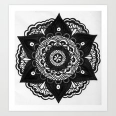 Flower Mandala Number 2 Art Print