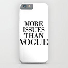 fashion quote, home decor iPhone Case