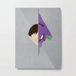 Shinji Metal Print