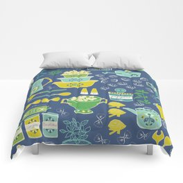 pasta & vintage dishes Comforters