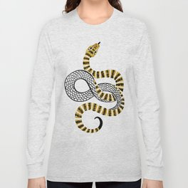 Gold Snake Long Sleeve T-shirt