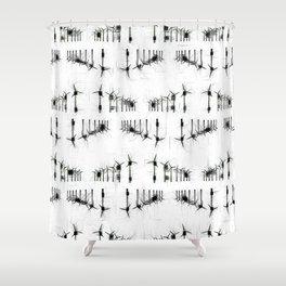 Wind Turbines. Shower Curtain