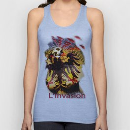 L'invasion Madonna Unisex Tank Top