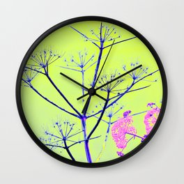 MAGIC SICILIAN FLOWERPOP Wall Clock