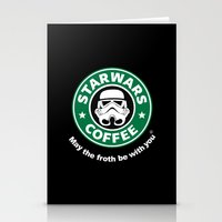 coffe Stationery Cards featuring SW Coffe by ismaeledits
