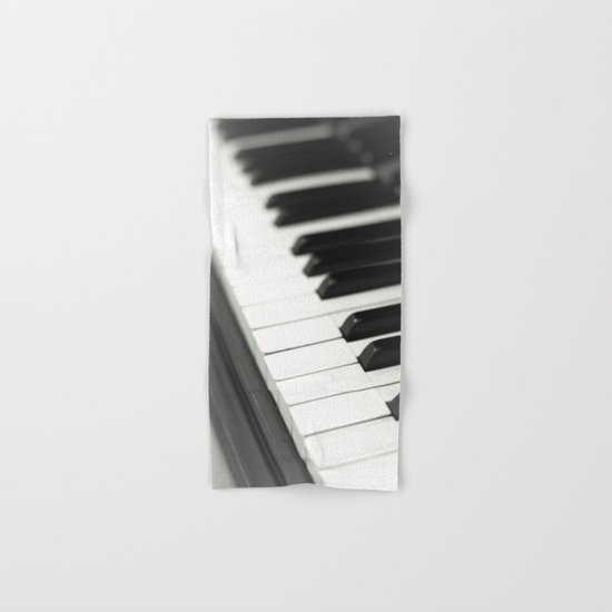 Piano Hand & Bath Towel