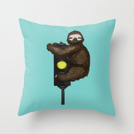 Take it Slow Throw Pillow