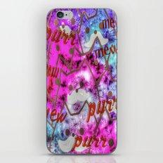 cat-81 iPhone & iPod Skin