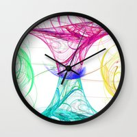 candy Wall Clocks featuring candy by haroulita