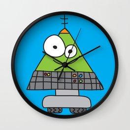 Triangle Robot Wall Clock