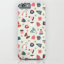Hygge Winter Time iPhone Case