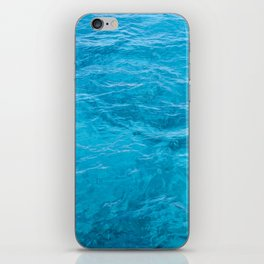 Light Blue Cozumel iPhone Skin