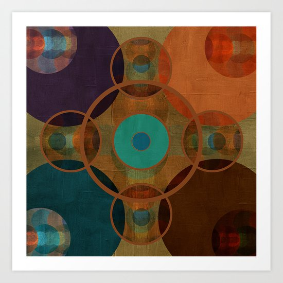 Textures/Abstract 97 Art Print
