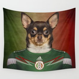 Worldcup 2014 : Mexico - Chihuahua Wall Tapestry