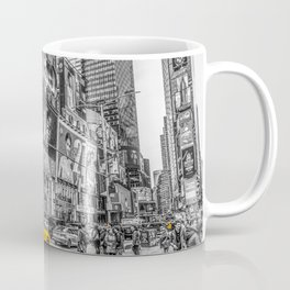 Yellow Taxi's Times Square Coffee Mug