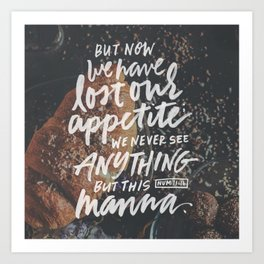 Lost our appetite Art Print