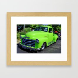 Bev I (1947 Chevy Pickup) Framed Art Print