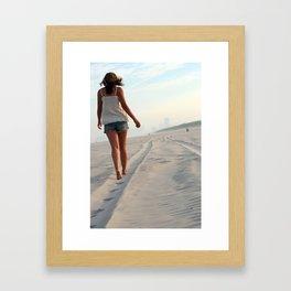 beachwalk Framed Art Print