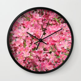 Crab Apple - Pommetier Wall Clock