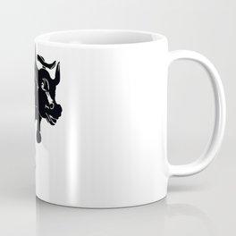 Girl vs Charging Bull - Fearless Girl Coffee Mug