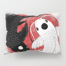 Koi fish - Yin Yang Pillow Sham