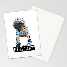 PUGLIFE PEE WEE Stationery Cards