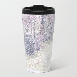 Snow in early fall(2). Travel Mug