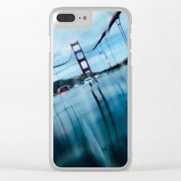 Sunken Bridge Clear iPhone Case