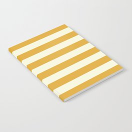Yellow Stripes Bold Notebook