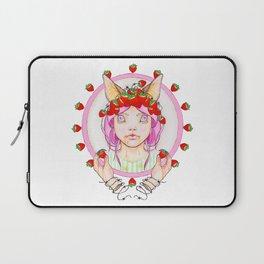 Strawberry Bat Cake Laptop Sleeve