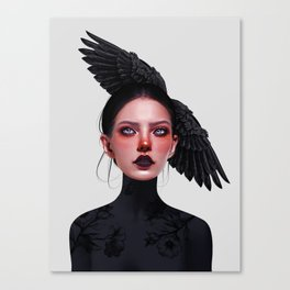 Jane Doe Canvas Print