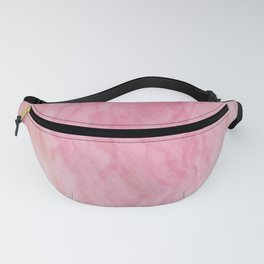 Turquoise Rose Marble texture Fanny Pack