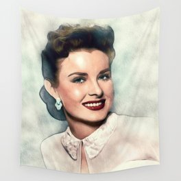 Jean Peters, Actress Wall Tapestry