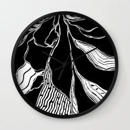 Winding Roots Wall Clock