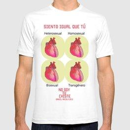 Siento como tú T-shirt