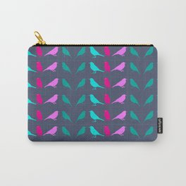 Funky Bird Chats Carry-All Pouch
