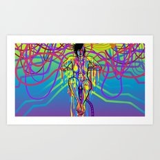 INTERNET GODDESS Art Print