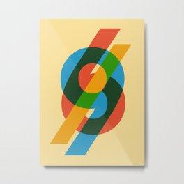 six to nine Metal Print
