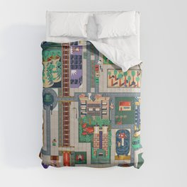 Map of life Comforters