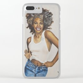 Whitney Clear iPhone Case
