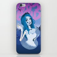 emily rickard iPhone & iPod Skins featuring Emily by Sarafinah