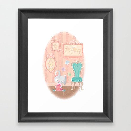 post-it artist Framed Art Print