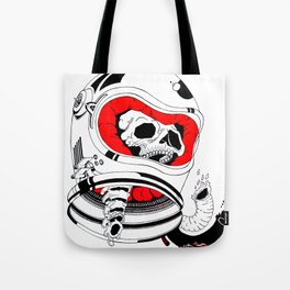 chopped in space Tote Bag