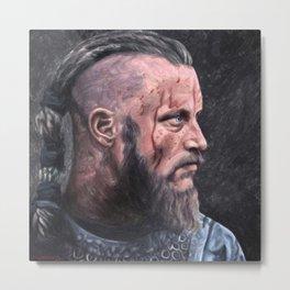 Ragnar Lodbrok Metal Print