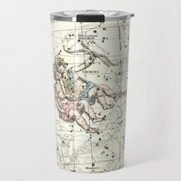 Gemini Constellation Celestial Atlas Plate 15 - Alexander Jamieson Travel Mug