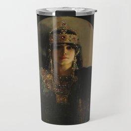 The Empress Theodora, Jean-Joseph Benjamin-Constant Travel Mug