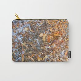 Feathers and Leaves Carry-All Pouch