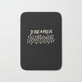 DREAMER #1 #typo #drawing #decor #art #society6 Bath Mat