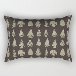 Arrow Heads Rectangular Pillow