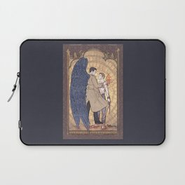 Angelic Intervention (Dean Winchester is Saved) Laptop Sleeve